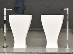 Lavabo freestanding in ceramica JAZZ | Lavabo freestanding - Jazz