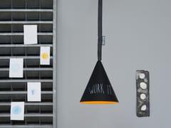 Lampada a sospensione in stile moderno JAZZ LAVAGNA | Lampada a sospensione - Matt Lavagna