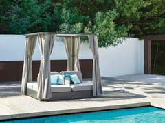 Letto da giardino in Sunbrella® a baldacchinoJCD DAYBED - JARDINICO