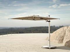 Ombrellone quadrato in Sunbrella® con palo lateraleJCP.302 - JARDINICO