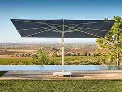 Ombrellone quadrato in Sunbrella® con palo lateraleJCP.402 - JARDINICO