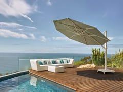 Ombrellone rotondo in Sunbrella® con palo laterale JCP.403 - Jardinico CARACTÈRE