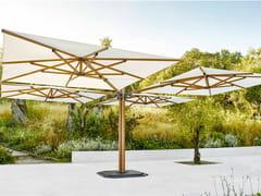 Ombrellone multiplo quadrato in Sunbrella®JCP.501 - JARDINICO