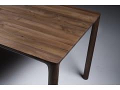 Tavolo rettangolare in legno masselloJEAN - ARTISAN