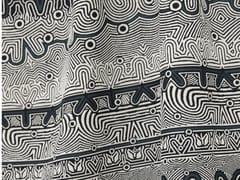 Tessuto jacquard in viscosa con motivi graficiJEAN PAUL GAULTIER - STRIPE - LELIEVRE