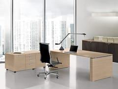 Mobile ufficio in nobilitatoJET | Mobile ufficio con ruote - BRALCO