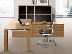 Mobile ufficio modulareJET | Mobile ufficio in vetro temperato - BRALCO