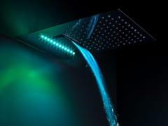 Soffione doccia a muro con sistema anticalcare con cromoterapiaJETTO | Soffione doccia con cromoterapia - TECH RAIN