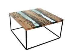 Tavolino da caffè quadratoJETTY - ALCAROL DI ELEONORA DAL FARRA