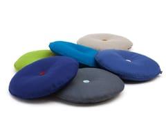 Cuscino rotondo in feltro di lana per divaniJIM - HEY-SIGN