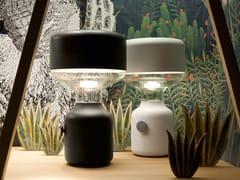 Lampada da tavolo a luce indiretta alogena in metallo JINN SMALL - Jinn