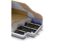 Sistema radiante a pavimento con pannello bugnatoJODO FLOOR EASY - ATAG ITALIA