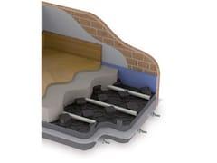 Sistema radiante a pavimento con pannello bugnatoJODO FLOOR THERMOGRAPHITE - ATAG ITALIA