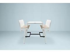 Banco pieghevole in alluminio con sedie integrateJOINTABLE - PROOFF