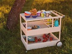 Carrello da cucina da giardinoJOKER | Carrello portavivande da giardino - ATMOSPHERA SOUL OF OUTDOOR