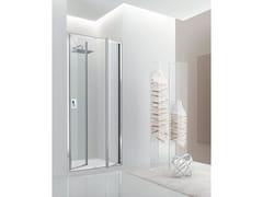 Box doccia a nicchia in vetro con porta a battente JOLLY - 4 - Jolly
