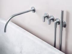 Set vasca a muro termostatico in acciaio inox con doccettaJP SET24THERM.1 - COCOON