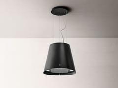 Cappa ad isola in acciaio inox con illuminazione integrata classe AJUNO URBAN - ELICA