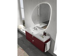 Mobile lavabo sospeso con specchioJUPITER 03 - BMT