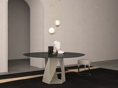 Tavolo rotondo in marmoJUPITER | Tavolo rotondo - INTERNATIONAL MARMI