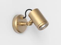 Faretto per esterno a LED orientabile in ottoneJURA | Faretto per esterno orientabile - ASTRO LIGHTING