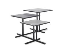 Tavolino basso quadratoK TABLE - MDF ITALIA