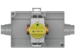 Rubinetto di intercettazione gas da incasso dirittoK2.0 - TECO