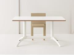 Tavolo alto in alluminio pressofuso K2 | Tavolo alto - K