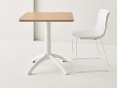 Tavolo a ribalta quadrato K4 | Tavolo quadrato - K