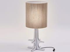 Lampada da tavolo in ceramica e canapaKAALA   Lampada da tavolo - PAOLO CASTELLI