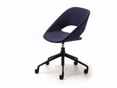Sedia ufficio operativa ad altezza regolabile in tessuto KABIRA FABRIC HO - Kabira