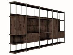 Parete attrezzata modulare in legnoKAI-KAI | Parete attrezzata - SHAKE
