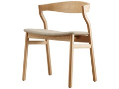 Sedia in legno con sedile imbottitoKALEA | Sedia - 4PLUS1 ITALIA