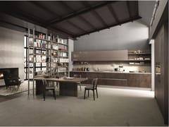 Febal Casa, KALEIDOS 04 Cucina lineare in gres porcellanato