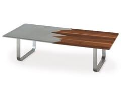 Tavolino basso rettangolare KALI | Tavolino - Oliver B. Casa