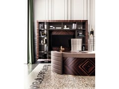 Parete attrezzata in legno con porta tv KALISPERA - CAPITAL COLLECTION IS A BRAND OF ATMOSPHERA