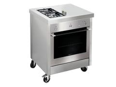 Cucina da esterno a gas in acciaio inoxKALOS KA070HUR - GPS INOX