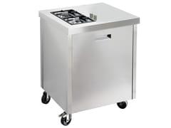 Cucina da esterno a gas in acciaio inoxKALOS KA070ISR - GPS INOX