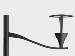 Lampione da giardino a LED in alluminioKALOS LATO PALO - CARIBONI GROUP