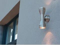 Applique per esterno a luce diretta e indiretta in acciaio inoxKAPA - BEL-LIGHTING