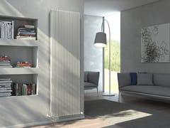 Radiatore verticale a parete ad acqua calda KARIN VX TANDEM VT - Monocolonna