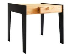 Tavolino basso in rovere con vano contenitore KAYLA | Tavolino basso - Kayla