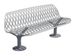 GHM-ECLATEC, KEA | Panchina con schienale  Panchina con schienale