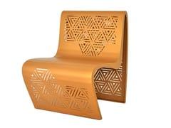 Seduta da esterni in acciaioKEHOPS | Seduta da esterni - TRACKDESIGN