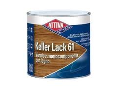 Vernice trasparente monocomponente oleosintetica opacaKELLER LACK 61 OPACO - ATTIVA