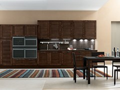 Cucina componibile lineare KELLY | Cucina lineare - FEBAL CASA BY COLOMBINI GROUP
