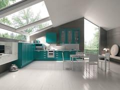Cucina componibile lineare KELLY | Cucina con maniglie integrate -