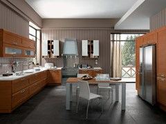 Cucina componibile lineare KELLY | Cucina in Okite® - FEBAL CASA BY COLOMBINI GROUP