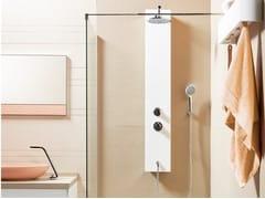 Colonna doccia a parete in Akron© e alluminioKENDO TS - CONSTRUPLAS