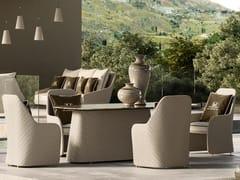 Sedia da giardino in resina con braccioliKENZIA BRIDGE - DFN